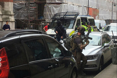 Following Manchester bombing, soldiers deployed across UK