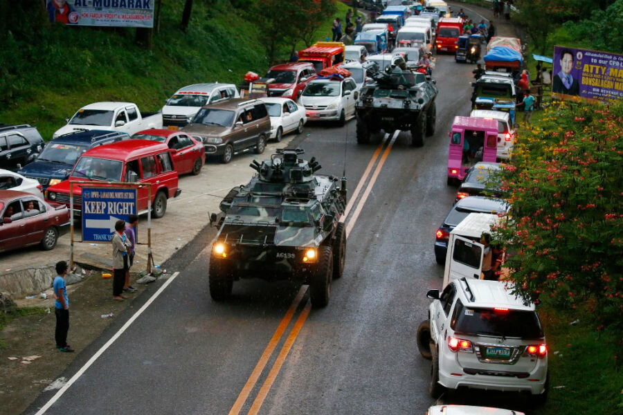 the relevance of the marawi siege in the society of the philippines Japan donating heavy equipment to marawi  social issues in the philippines  while the government was able to siege camp abu bakar, the main camp of the milf .