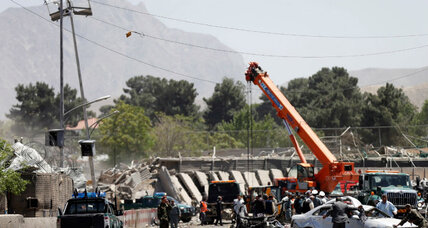 Large bomb kills at least 80 in Kabul