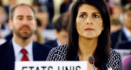 Why Nikki Haley's outlier status is useful for White House – up to a point