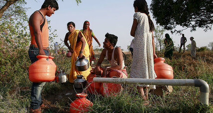 Women take southern India's drought into their own hands – one shovel at a time