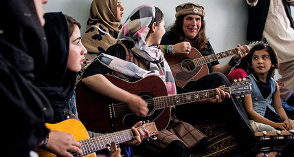 From 'Full House' to Afghanistan: an American teaches street children music