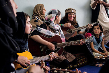 From 'Full House' to Afghanistan: an American teaches street