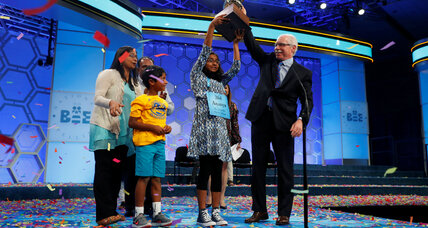Sixth grader Ananya Vinay wins national spelling bee with 'marocain'