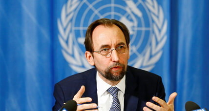 UN High Commissioner urges termination of Israeli occupation