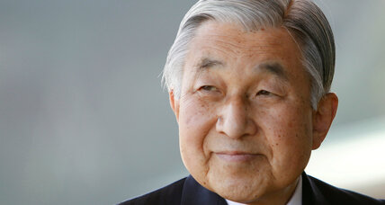A new law allows Japan Emperor Akihito to abdicate. Who would replace him?