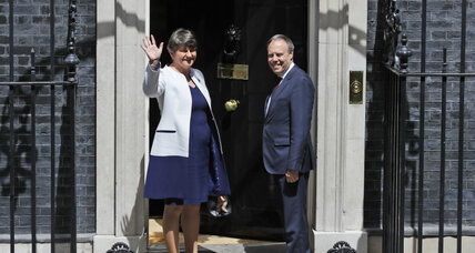 UK PM seeks political alliance in Northern Ireland
