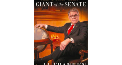 'Giant of the Senate' author Al Franken is back to 'The Funny'