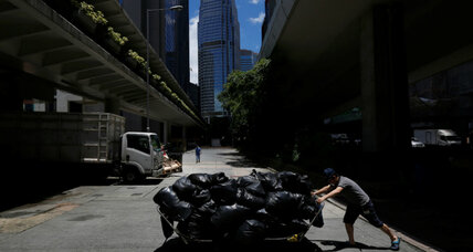 As Hong Kong nears its waste capacity, authorities ponder solutions