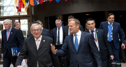 Euroscepticism waning, EU wants to be seen as a solution, says EU's Tusk