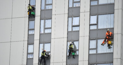 After London fire, hundreds of tower blocks tested for flammable cladding