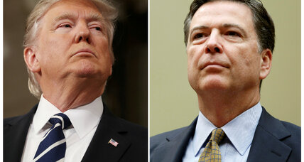 Trump claims he tweeted about secret tapes to keep Comey 'honest'