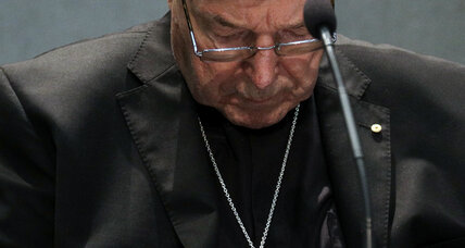 Cardinal leaves Vatican to face sexual abuse charges in Australia