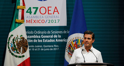Mexico takes lead to rein in Venezuela – and sends message to voters at home
