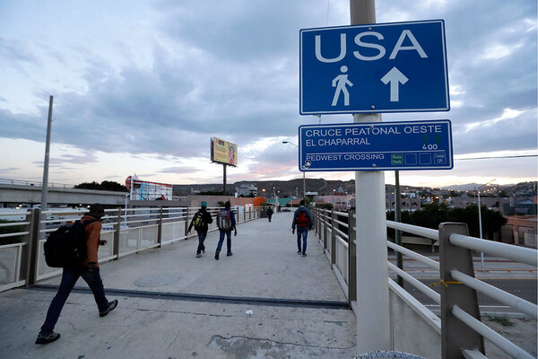 Why In Tijuana A Different Kind Of Migrant Elicits