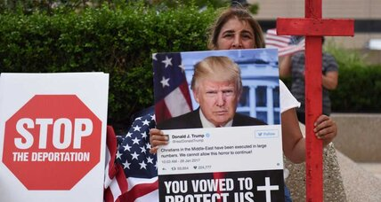 Why Michigan's Iraqi Christians thought Trump would spare their loved ones