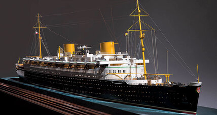Exhibit offers look at the age of the ocean liner