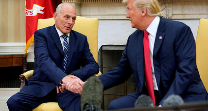 General Kelly offers Trump a semblance of order – if the president lets him