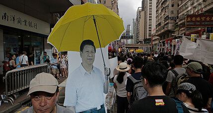 Amid anniversary protests, fears that Hong Kong is 'just another mainland city'