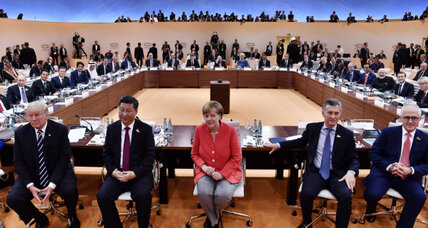G-20 summit: German host tells world leaders they must compromise