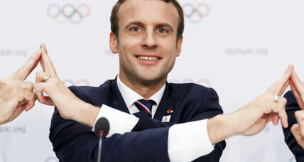 Paris 2024 Olympic Games bid lauded by Macron as chance to uphold 'values'