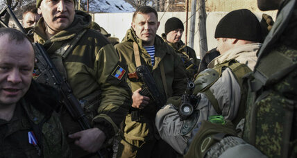 Pro-Russia rebel leader suggests breakaway region could become 'Little Russia'