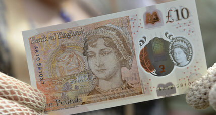 Cents and sensibility: Jane Austen graces British 10-pound note