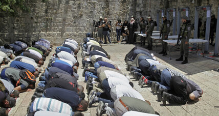 Heightened security measures fuel tensions at shared Jerusalem holy site