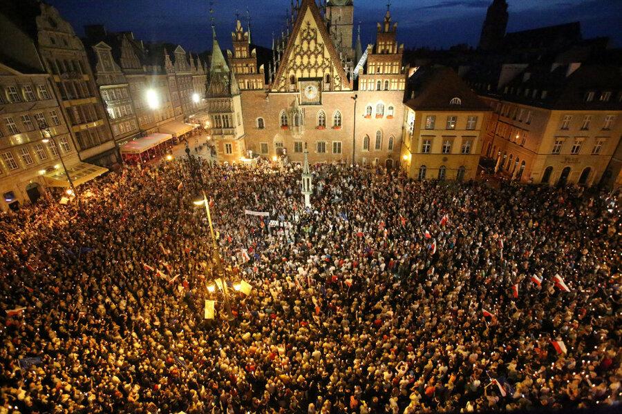 Poland's challenge to EU values