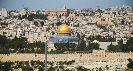 What restores peace for Jerusalem's Old City
