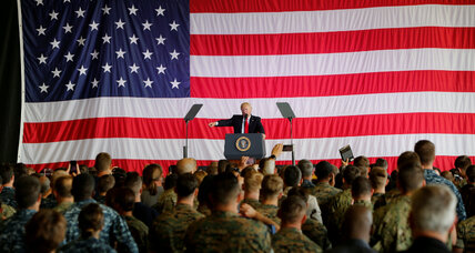 Trump announces ban on transgender troops in US military
