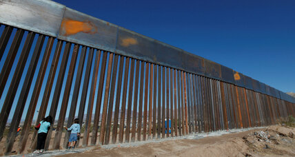 House-approved budget funds border wall, increases military spending