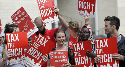 Taxing the rich: how Seattle leads a 'go-local' trend in liberal politics