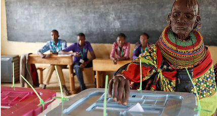 As Kenyans anxiously await election results, a region watches beside them