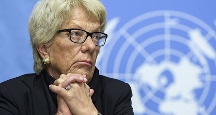 What Carla Del Ponte's resignation means for search for justice in Syria