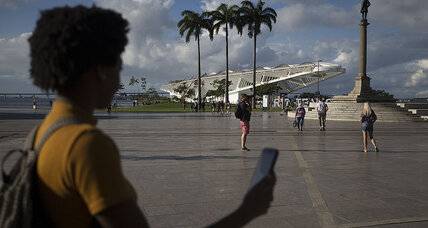 At slavery-era sites in Rio, app unearths an uneasy history