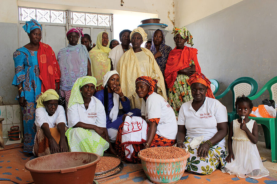 She's giving job opportunities to other women in Senegal
