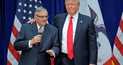 Why Trump's Arpaio pardon is different