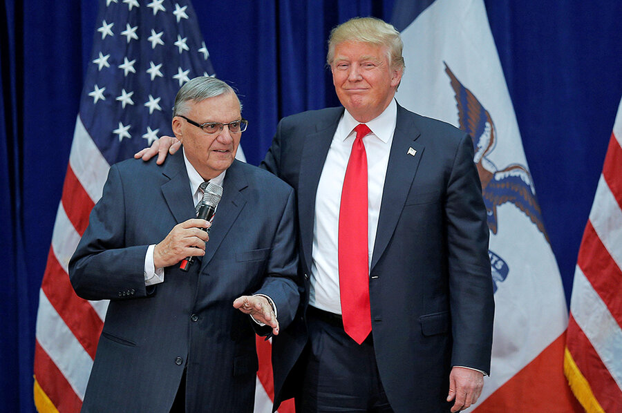 Image result for arpaio pardon