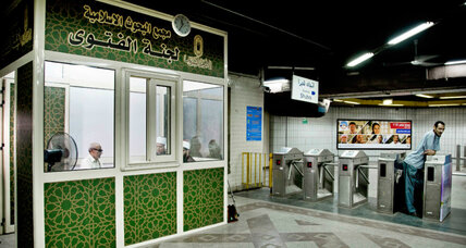 Religion on the go: clerics use Cairo subway to clarify Islamic doctrine