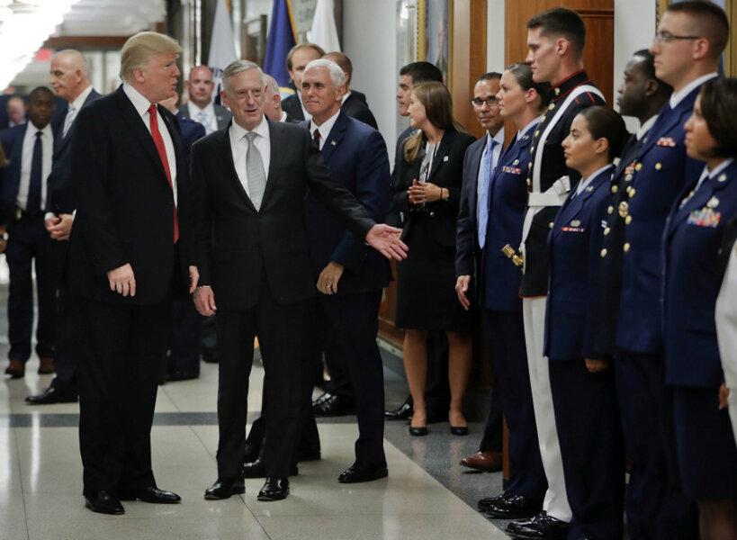 Trump S Transgender Ban Tweets Prompt Talks With Pentagon