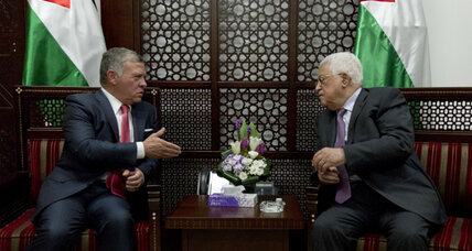 Jordan's king visits West Bank: A rare trip seen as message to Israel