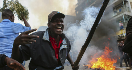 Kenyan opposition candidate alleges election hacking, triggering violent protests