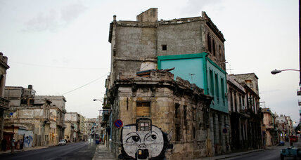 A new voice finds expression in Cuba: graffiti artists