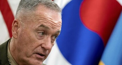 Senior US military officer warns North Korea against provocation