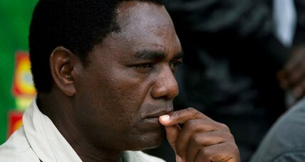 Zambian political opposition leader released from prison