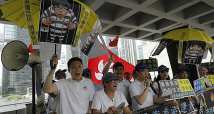 Student leaders of 2014 Hong Kong protest receive prison sentence