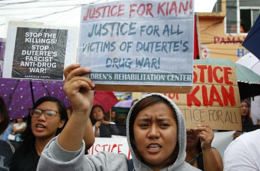 Filipinos caught in the crossfire of anti-drug campaign ...