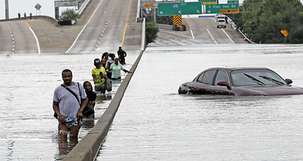 Houston inundated by mega storm: Rain continues