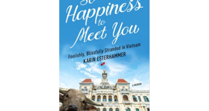 'So Happiness to Meet You' spins an improbable premise into a deft memoir